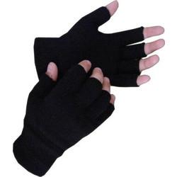 Γάντια πλεκτά κομμένα δάχτυλα Μαύρο 107 2a73e327c4e