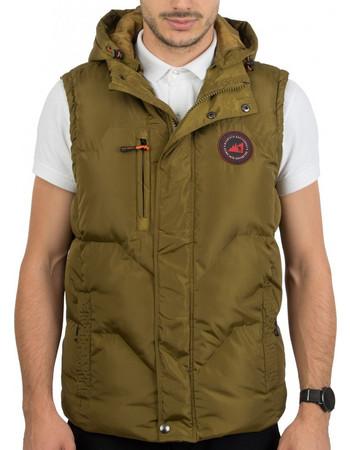 33a21975355 μπουφαν μεγαλα μεγεθη φθηνα. ΔημοφιλέστεραΦθηνότεραΑκριβότερα. Εμφάνιση  προϊόντων. Ανδρικό Αμάνικο Μπουφάν Γιλέκο Puffer Jacket με Κουκούλα ICE  TECH G525 ...
