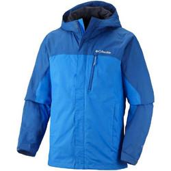 8cb70c993643 Αδιάβροχο αντιανεμικό ανδρικό μπουφάν Columbia Pouring Adventure Jacket  Hyper Blue Μπλε Columbia