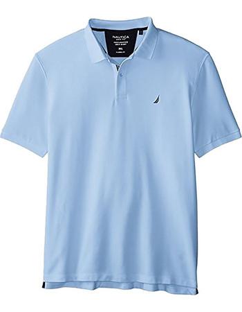 892b42bf6839 Ανδρική polo μπλούζα Nautica - K41050 - Γαλάζιο