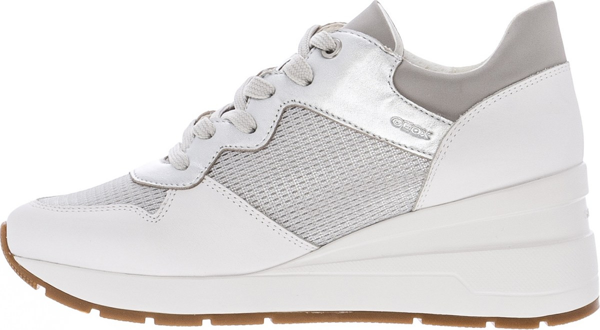 51f25c5edfa silver silver - Sneakers Γυναικεία Geox   BestPrice.gr
