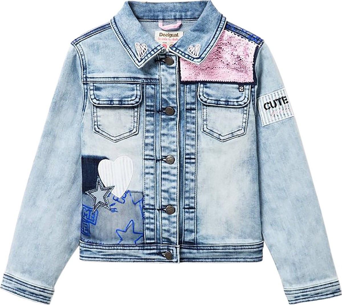 73d1a52a665 girls jacket - Μπουφάν Κοριτσιών Desigual | BestPrice.gr
