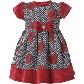 Βρεφικό Φόρεμα Boutique 44-116445-7 Φλοράλ Κορίτσι de70c504179