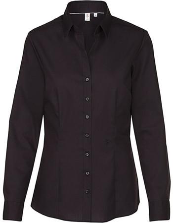 Γυναικείο μακρυμάνικο πουκάμισο Seidensticker 80613 - Black f9039d3a720