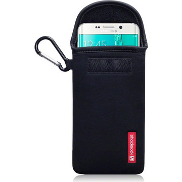 Shocksock Neoprene Pouch Black (Galaxy S6 Edge+)