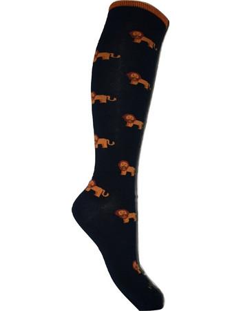 Ανδρική κάλτσα Θερμική μακριά με Σχέδια Μπλε σκούρο EGI EGI socks a133e99dba9