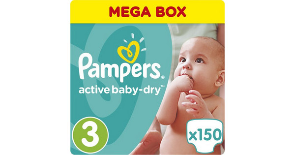 Pampers Active Baby Dry Midi No3 5-9kg 150τμχ  81448264fe7
