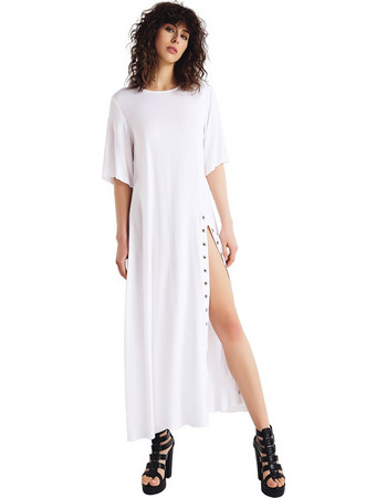 14c62e008999 4Tailors The Atmospheric Dress (SS18-109 WHITE)