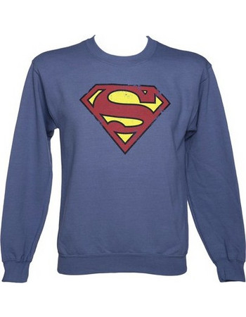 c1dd5d269d19 Superman - Distressed Logo Sweatshirt