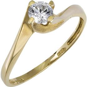 Χρυσό μονόπετρο φλόγα Κ14 015826 015826 Χρυσός 14 Καράτια be99a7136d3