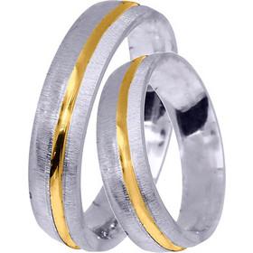 Βέρες Γάμου   Αρραβώνα BR0356D BR0356D Χρυσός 14 Καράτια μεμονωμένο τεμάχιο 9ff4e3f82be