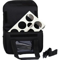 8adae8dea2 Ισοθερμική Τσάντα Delivery Καφέ 6+2 Θέσεων Με Ιμάντα Ώμου Μαύρη