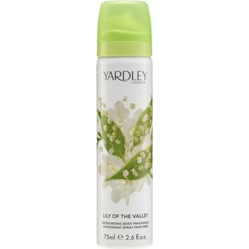 Yardley London Lilly of the Valley Body Spray 75ml
