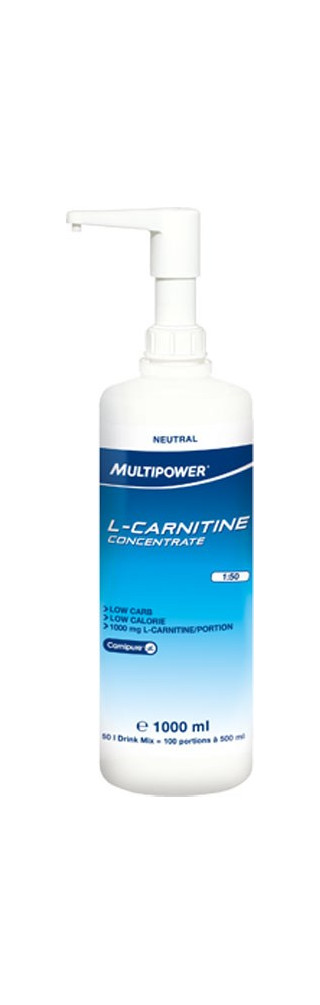 Multipower L-Carnitine Concentrate 1lt