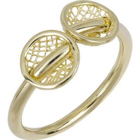 Δαχτυλίδι χρυσό Κ14 με σχέδιο 026446 026446 Χρυσός 14 Καράτια a40ffc4d1f1