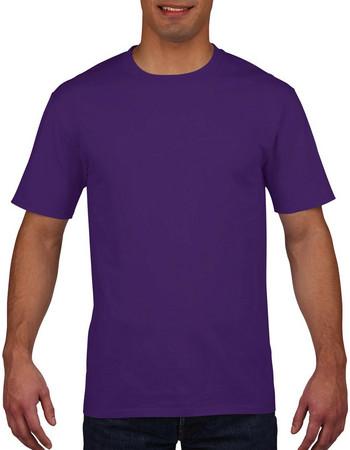 Ανδρικό Tshirt Κλασικό Premium Cotton Adult T-Shirt Purple 4100 994b5aaa08b
