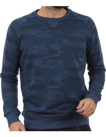 Ανδρικό Μπλούζα Φούτερ Terry Fleece DOUBLE MTOP-35 Μπλε παραλλαγής 44a2495283e