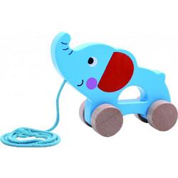 7a2c513fe7f Tooky Toy Συρόμενος Ελέφαντας