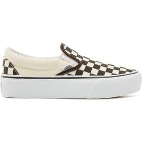 VANS Platform Classic Slip On Checkerboard - Black White - V0018EBWW 7268f899cf3