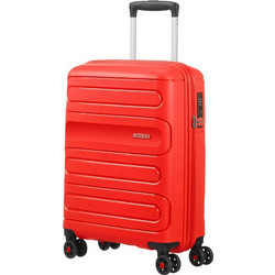 eeecc6bf0d American Tourister Sunside 55cm 4 Wheels Sunset Red