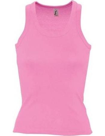 37e599c20b56 Sol s Coconut 11490 Γυναικείο αμάνικο t-shirt μπλουζάκι με αθλητική πλάτη  σε σχήμα Τ 220