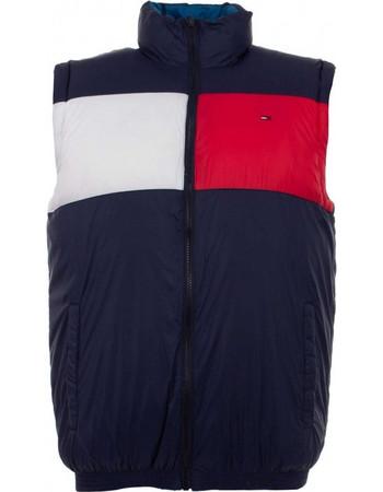 Tommy Hilfiger Tommy Jeans Quilted Reversible Vest DM0DM04552-902 aaf6f443984