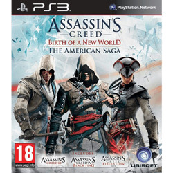 Assassin's Creed Birth of A New World The American Saga Collection - PS3