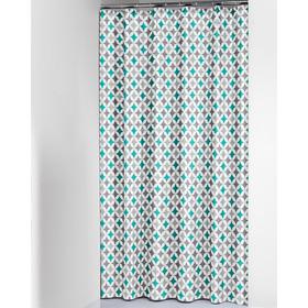 Κουρτίνα Μπάνιου (180x200) SealSkin Diamonds Aqua dc2a0d38f69