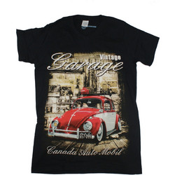 d7deab53261e T-Shirt Farmakos 20019 σε μαύρο χρώμα
