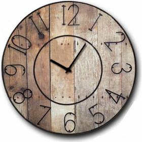 Gruntz - Ρολόι τοίχου Ξύλινο Χειροποίητο Στρογγυλό 48cm F4817 79c4b5df7e7
