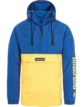 188766671e0e Timberland ανδρικό μπουφάν με φερμουάρ 3 4 και Colorblock - TB0A1N8CP411 -  Μπλε