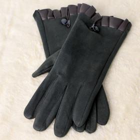Γυναικεία βελούδινα γάντια. Potre ade373387c3