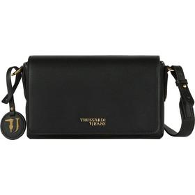Trussardi Jeans γυναικείo mini bag T-Easy Cacciatora - 75B00699-9Y099999 -  Μαύρο 09d5215ba8f