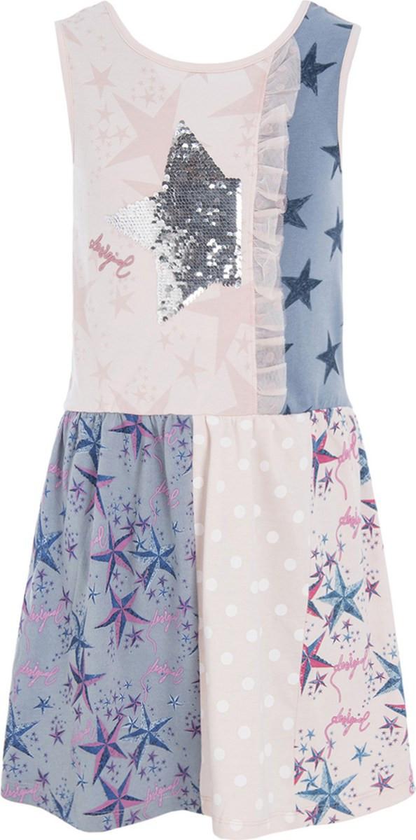 09bcfb5e4523 Φορέματα Κοριτσιών Desigual • Ροζ