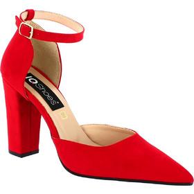 IQSHOES Γυναικεία Γόβα 820 Κόκκινο ad027a155bc
