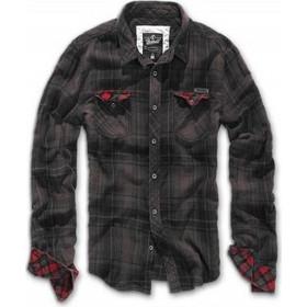 d4b94f9ee749 Brandit Duncan Checkshirt Brown Black