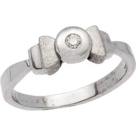 Δαχτυλίδι μονόπετρο λευκόχρυσο 18 καράτια με μπριγιάν 0.05ct 69666d82e88
