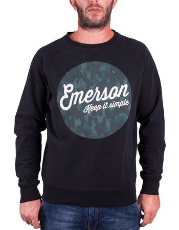 Emerson Φούτερ MFR1613 Black 49317f97264