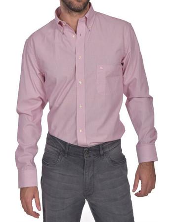 1b2f39a9d1d5 Dur ανδρικό πουκάμισο ριγέ button down Regular fit - 10210043 - Ροζ