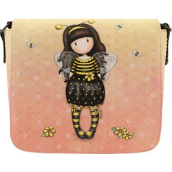 7d3d4a63f4 ΤΣΑΝΤΑΚΙ ΧΙΑΣΤΙ SANTORO GORJUSS CROSS BODY BAG 22X25cm - BEE LOVED (JUST  BEE-CAUSE
