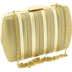 91a3b36144 Βραδινό τσαντάκι clutch Verde 01-1044-Χρυσό