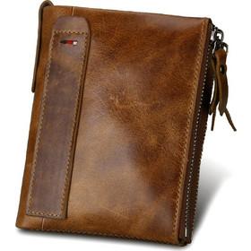68dbe3954b Δερμάτινο Αντρικό Πορτοφόλι Hibate Men Leather Wallet RFID Blocking Men s  Wallets Credit Card Holder Coin Pocket