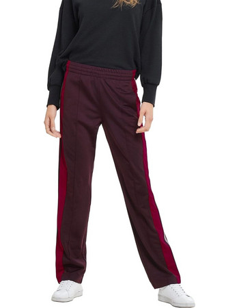 ΟNLY γυναικείο παντελόνι-φόρμα Stripe trousers - 15165876 - Μπορντό. Only 8267984f040