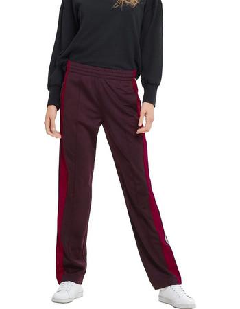 06527a130d52 ΟNLY γυναικείο παντελόνι-φόρμα Stripe trousers - 15165876 - Μπορντό