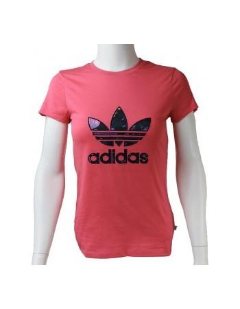 fa2dc3cd89 Adidas J BB Trefoil T-Shirt AJ0035