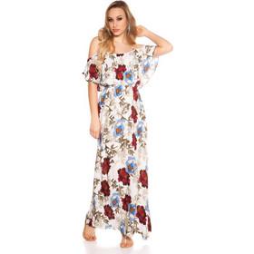 0681ac49cef8 Summer maxi φόρεμα floral white