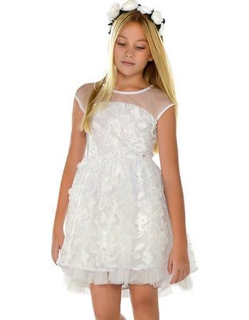 Mayoral 29-06913-086 Φόρεμα τούλινο 6913 Λευκό Mayoral 6b3e5ccbe41