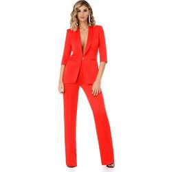 a8e9e555ffa2 9303 RO Κομψό κοστούμι με τέλεια εφαρμογή - Κόκκινο