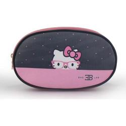 3c2609d528d Γυναικείες τσάντες μέσης πουά με Hello Kitty Ροζ