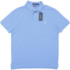 604ae5c8fa9c Polo Ralph Lauren Short Sleeve Knit 710-680784 Ανοιχτό Μπλε